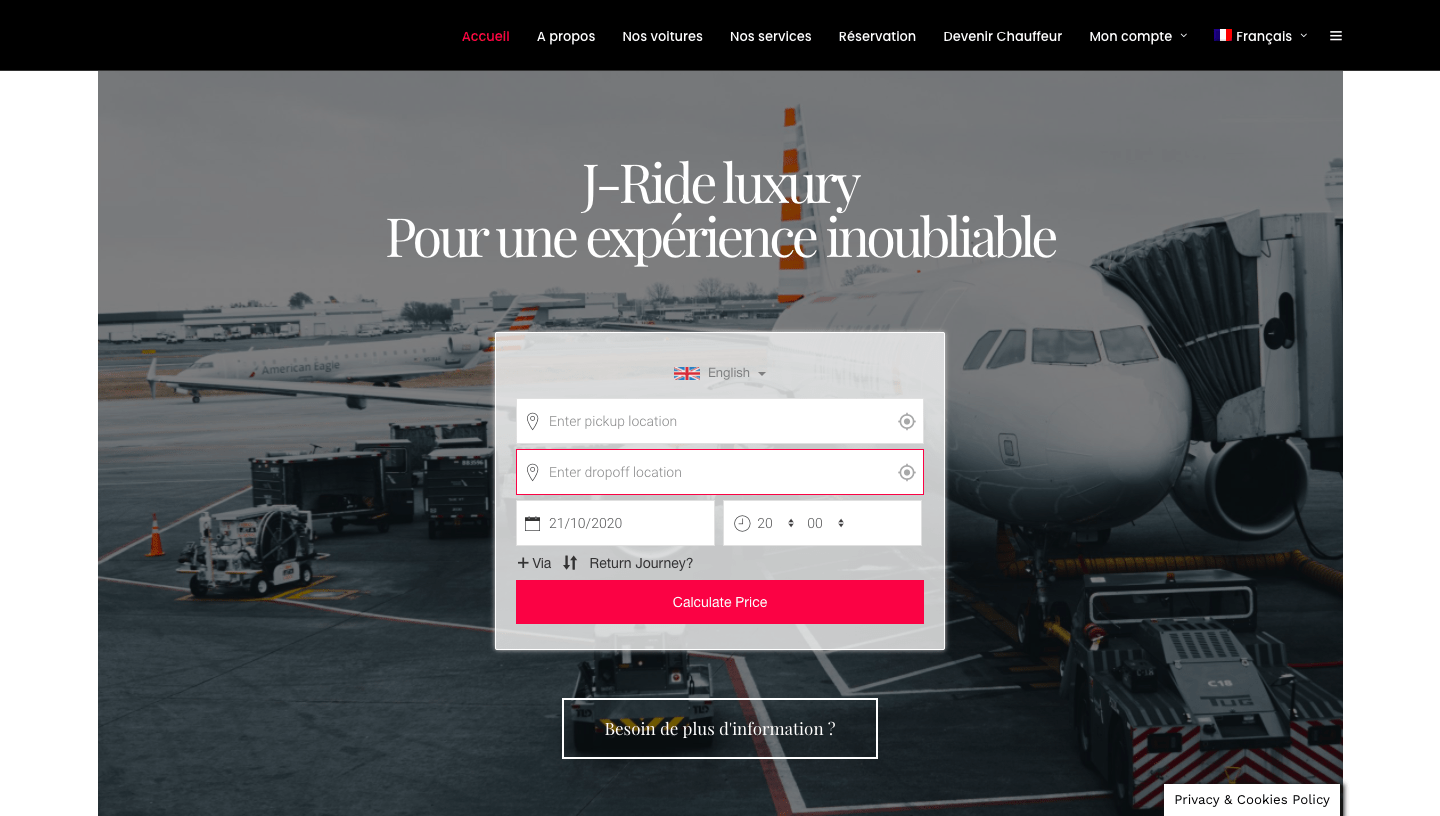 j-ride entreprise de transport belge