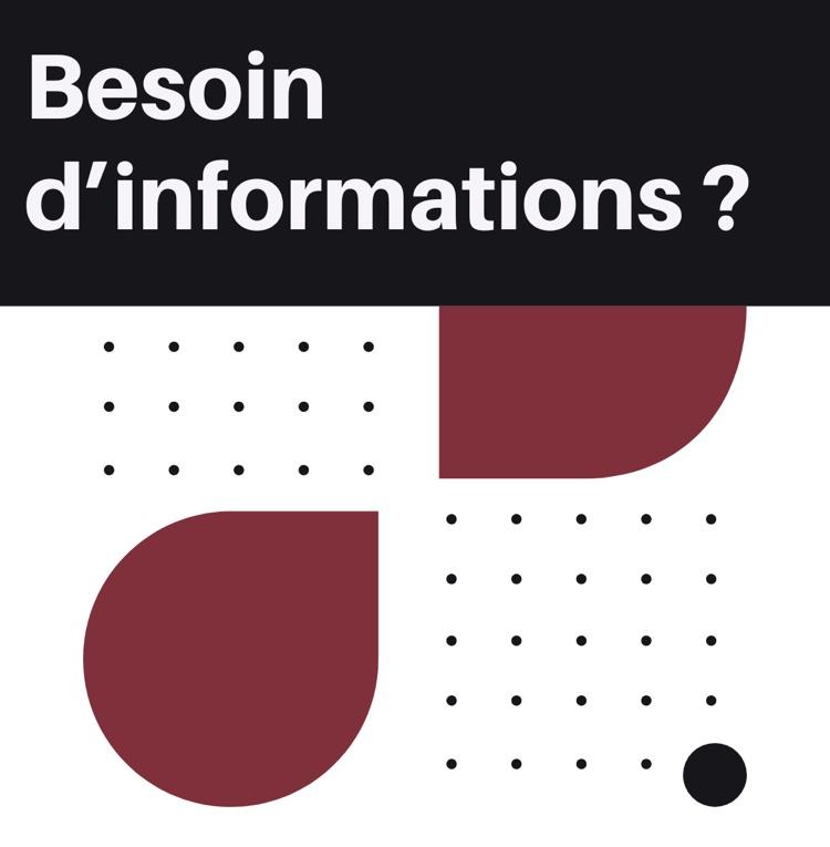 image pour représenter de façon design le besoin d'information